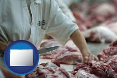 colorado a meat processing worker