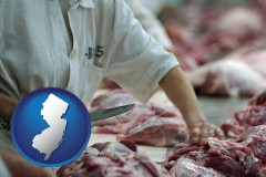 new-jersey a meat processing worker